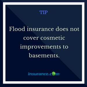what does flood insurance not cover