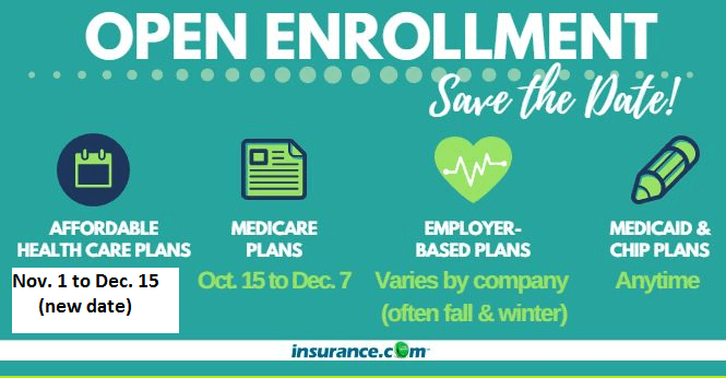Open Enrollment 2018 - What all you need to know ...